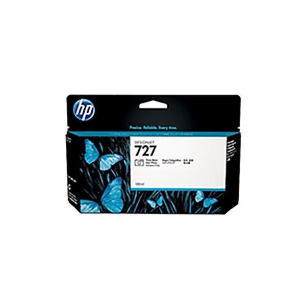 AV・デジモノ 【純正品】 HP B3P23A HP727 インクカートリッジフォトBK130