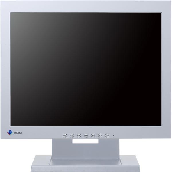 パソコン・周辺機器 関連商品 EIZO 38cm(15.0)型タッチパネル装着カラー液晶モニター DuraVision FDX1501T-Aグレイ FDX1501T-AGY