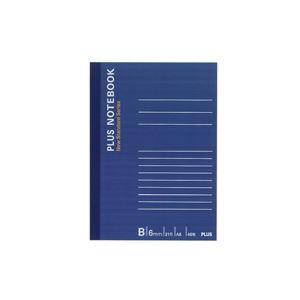 (業務用500セット) プラス ノートブック NO-405BS A6 B罫 【×500セット】