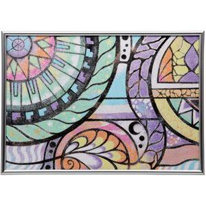 画材・絵具 生活日用品 雑貨  (まとめ買い)ラメ砂絵セット A4 メタリックフレーム付 【×5セット】