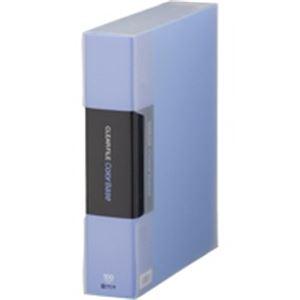 (業務用10セット) キングジム クリアファイル 100P 132-5C A4S 青 【×10セット】