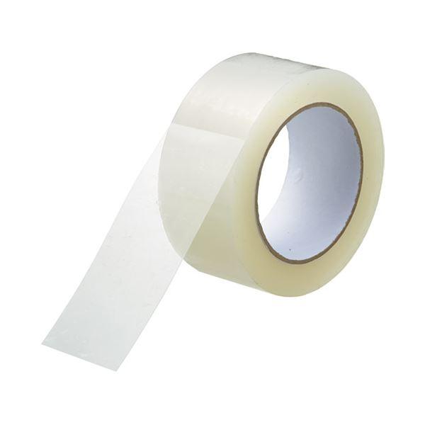 透明梱包用テープ48mm*100m*50巻 B385J-10