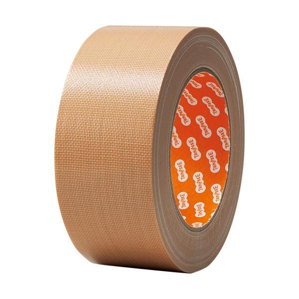 文具・オフィス用品 便利 日用品  (まとめ買い) 布テープ 中梱包用 50mm×25m 1巻 【×20セット】