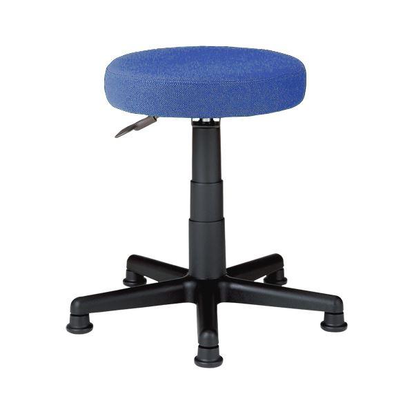 椅子 関連商品 丸イス C911J ブルー 布張り