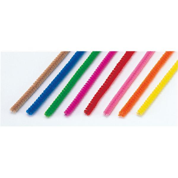 ホビー・エトセトラ 生活日用品 雑貨  (まとめ買い)カラーモール 8色組(6φx240mm) 【×100セット】