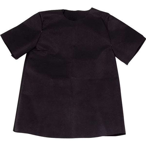 生活日用品 雑貨  (まとめ買い)衣装ベース C シャツ 黒 【×30セット】