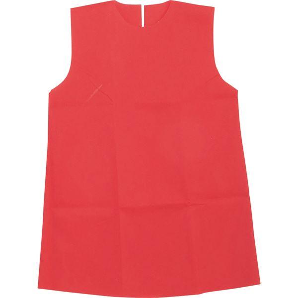 生活日用品 雑貨  (まとめ買い)衣装ベース C ワンピース 赤 【×30セット】