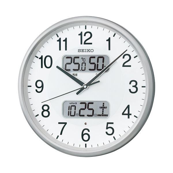 生活日用品 セイコークロック セイコー 電波掛時計 KX383S