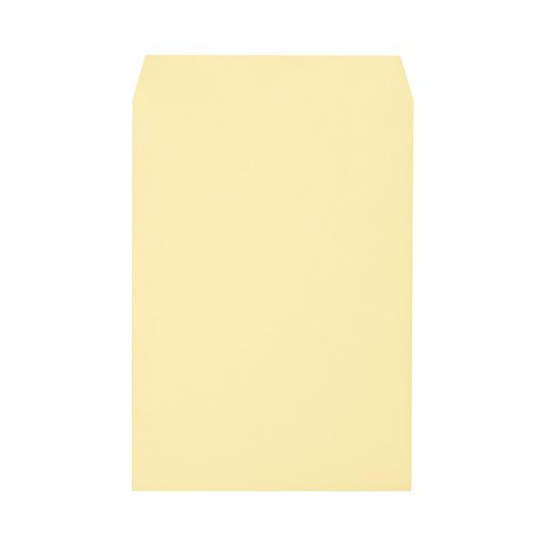 文具・オフィス用品 (まとめ) キングコーポレーション ソフトカラー封筒 角2 100g/m2 クリーム K2S100C 1パック(100枚) 【×3セット】