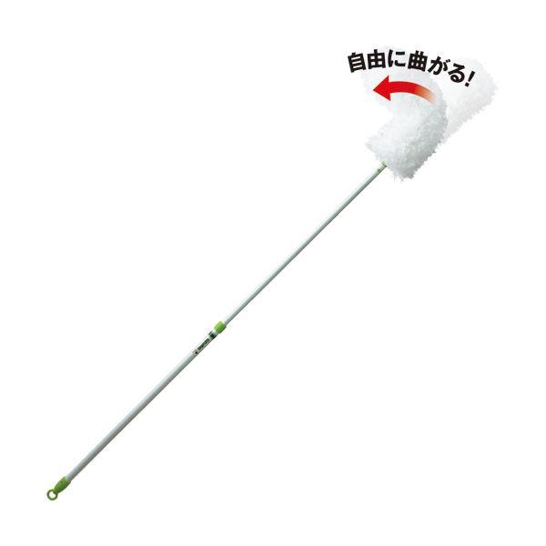 日用雑貨 (まとめ) アズマ工業 モコモハタキFL 伸縮ロング MC420 1本 【×5セット】