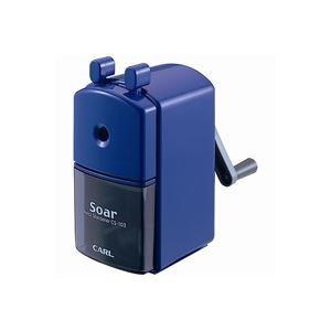 (業務用30セット) カール事務器 手動鉛筆削ソアー CS-103-B ブルー 【×30セット】