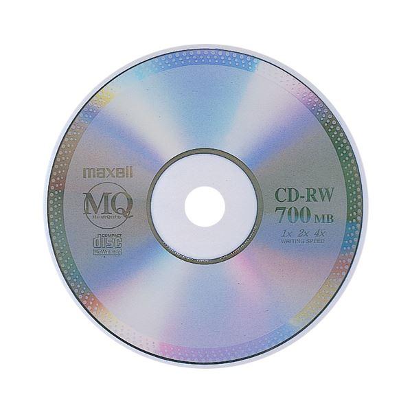 (まとめ) マクセル データ用CD-RW 700MB 4倍速 ブランドシルバー 5mmスリムケース CDRW80MQ.S1P 1枚 【×20セット】