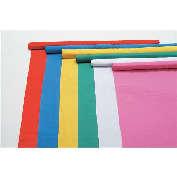 日用品雑貨 生活日用品 雑貨  (まとめ買い)カラー布 110cm幅 3m切売 白 【×5セット】