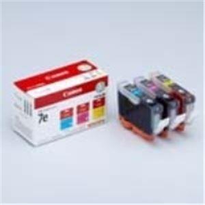 パソコン・周辺機器 (業務用10セット) Canon(キャノン) インクカートリッジ BCI-7e3MP 3色 【×10セット】
