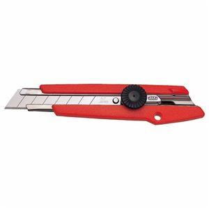 文具・オフィス用品 (まとめ) NTカッター L型カッター 赤 L-500 1本 【×10セット】