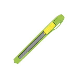 (業務用300セット) プラス カッターナイフS CU-103 グリーン 【×300セット】