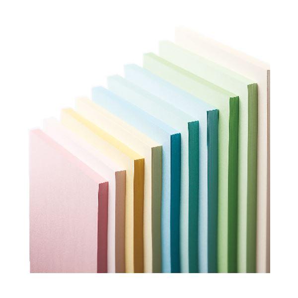 AV・デジモノ (まとめ) 長門屋商店 Color Paper A3 中厚口 さくら ナ-1219 1冊(100枚) 【×5セット】