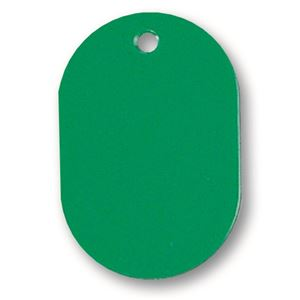 文具・オフィス用品 (まとめ) ソニック 番号札 小 無地 緑 NF-751-G 1パック(10個) 【×30セット】