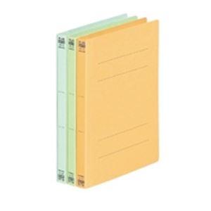 (業務用50セット) プラス フラットファイル/紙バインダー 【A5/2穴 10冊入り】 041N ブルー(青) ×50セット