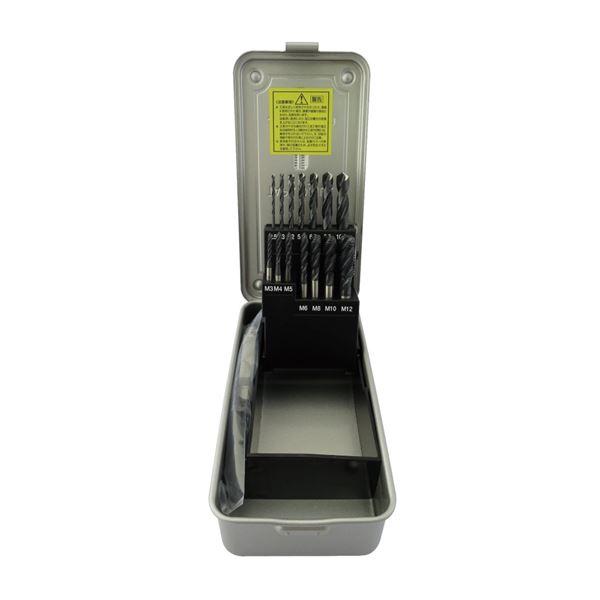ドリル 関連商品 イシハシ精工 SSD-21 スパイラルタップ・ドリルセット