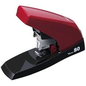 文具・オフィス用品 (業務用10セット) マックス バイモ80 HD-11UFL/Rレッド HD90498 【×10セット】