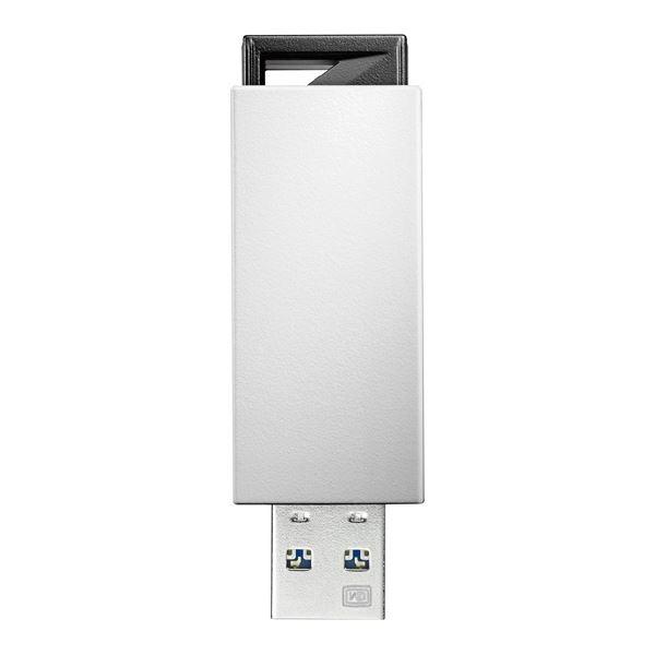 アイ・オー・データ機器 USB3.0/2.0対応 ノック式USBメモリー 32GB ホワイト U3-PSH32G/W