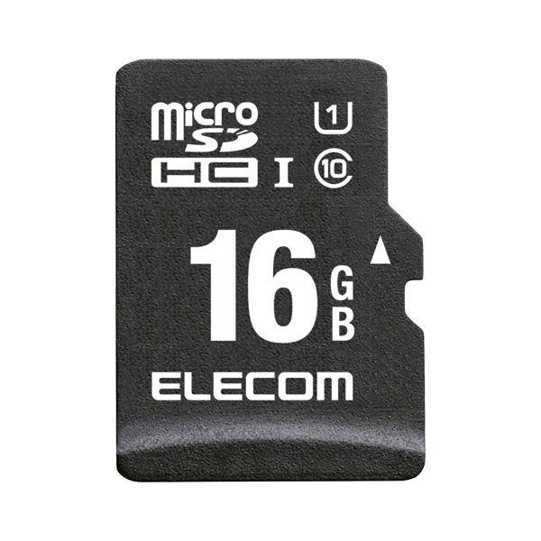 エレコム microSDHCカード 車載用 16GB MF-CAMR016GU11