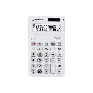 生活用品・インテリア・雑貨 (業務用40セット) ジョインテックス 中型電卓 ホワイト K071J 【×40セット】