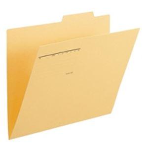 生活日用品 (業務用50セット) プラス 個別フォルダー FL-068IF B4E 黄 10枚 ×50セット