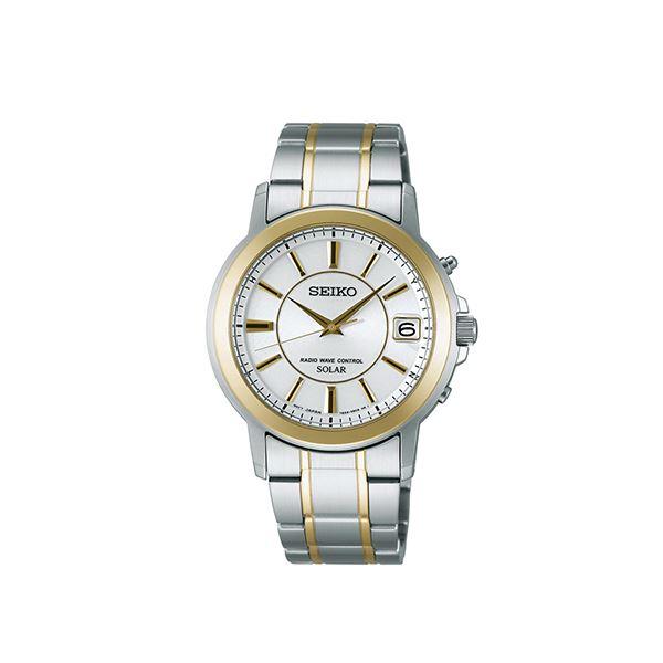 置き時計・掛け時計 関連商品 SEIKO電波時計GLD 154-08B
