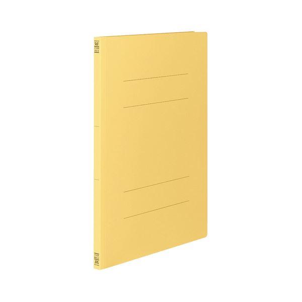 文具・オフィス用品 (まとめ) コクヨ フラットファイルV(樹脂製とじ具) A3タテ 150枚収容 背幅18mm 黄 フ-V43Y 1パック(10冊) 【×3セット】