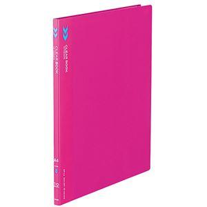文具・オフィス用品 (まとめ) コクヨ クリヤーブック(クリアブック)(K2)固定式 A4タテ 10ポケット 背幅11mm 中紙なし 赤 K2ラ-K10R 1冊 【×30セット】
