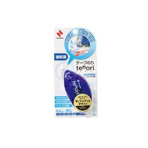 文具・オフィス用品 便利 日用品  (まとめ買い) テープのり tenori 強粘着 本体 8.4mm×16m TN-TE8 1個 【×15セット】