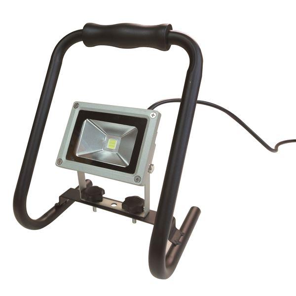 花 (業務用10個セット) trad LED投光器 防水/屋外用/省エネ/長寿命 SLW-10W AC100