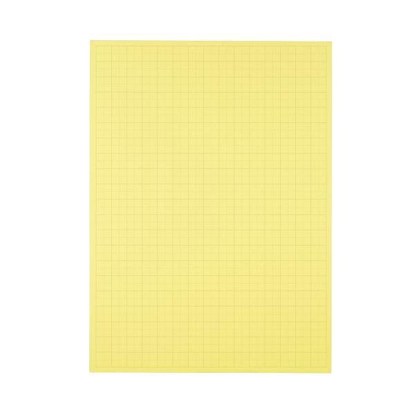 文具・オフィス用品 (まとめ) TANOSEE 模造紙(プルタイプ) 本体 788×1085mm 50mm方眼 クリーム 1ケース(20枚) 【×5セット】