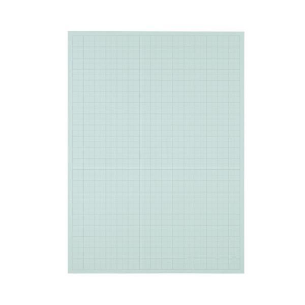 文具・オフィス用品 (まとめ) TANOSEE 模造紙(プルタイプ) 本体 788×1085mm 50mm方眼 ブルー 1ケース(20枚) 【×5セット】