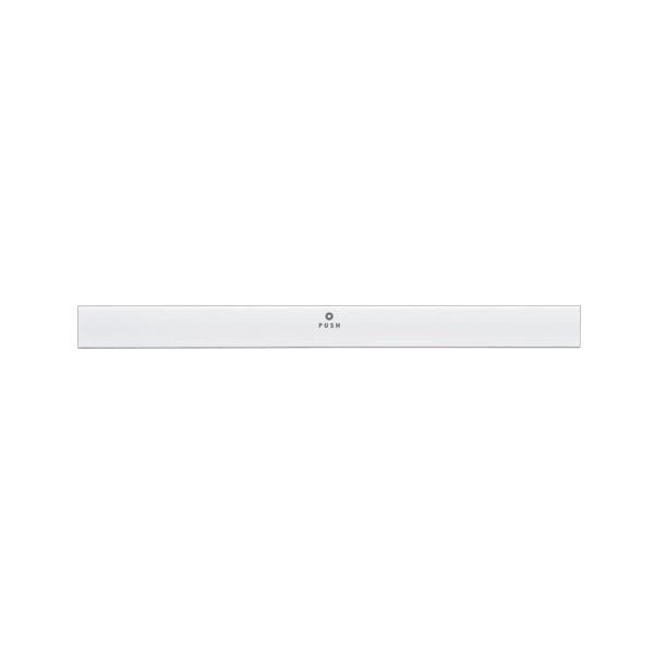 文具・オフィス用品 (まとめ) TANOSEE マグネットバー W220mm 白 1本 【×20セット】