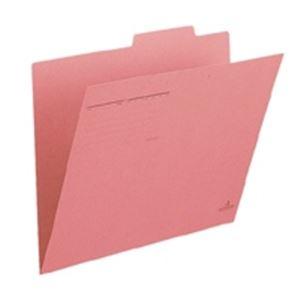 クリアケース・クリアファイル 関連商品 (業務用50セット) プラス 個別フォルダー FL-011IF B4E 桃 10枚 ×50セット