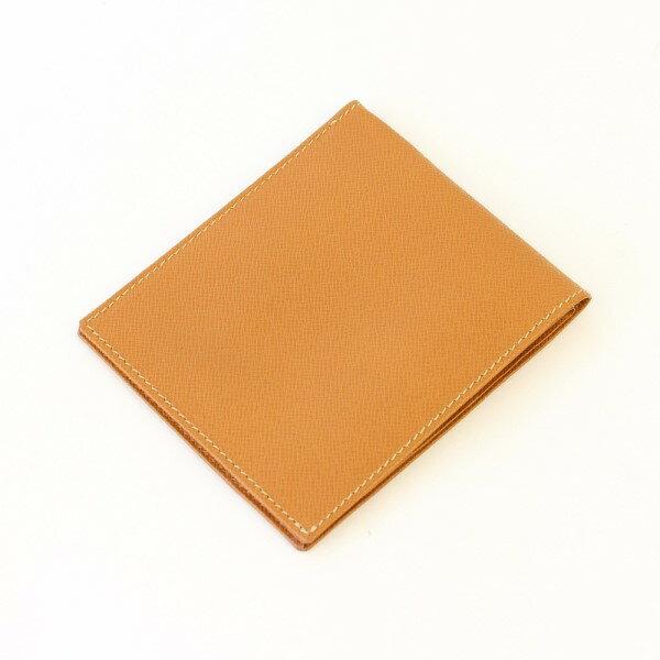 【人気のクラシックショート】 メンズ 財布 二つ折り スタンダードなシルエット 人気商品 FRUHスマートショート・ウォレット ライトブラウン