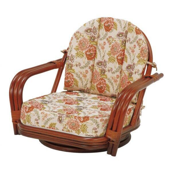 籐 ソファ ラタンチェア  アジアン リゾート を 感じさせる 素材 腰 が 痛い方 でも 立ち座り が ラク RATTAN CHAIR 回転座椅子 高さ51cm