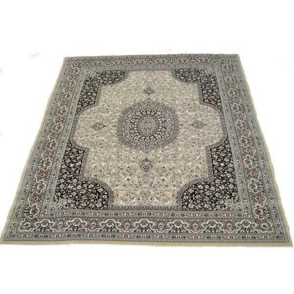 カーペット 一年中使える 素敵 軽くて洗える 日本の織じゅうたん BE 240x330 6帖用 ベージュ