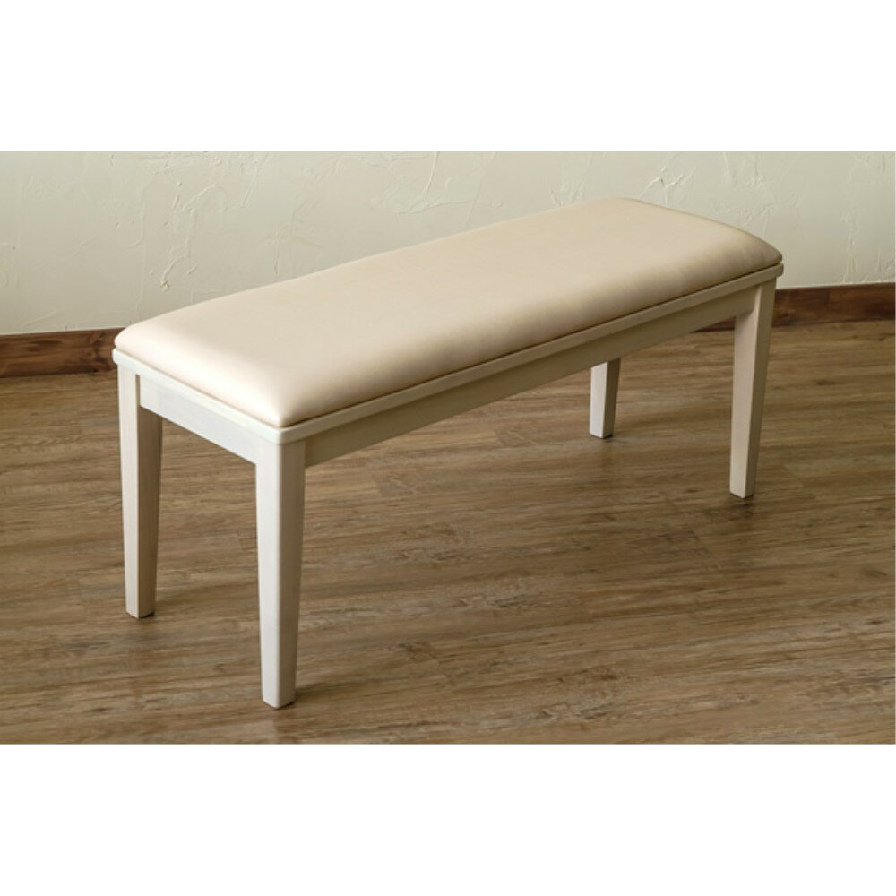 チェアー 家具 ダイニング モダンダイニングベンチ 100x35cm カラー:ホワイトウォッシュ