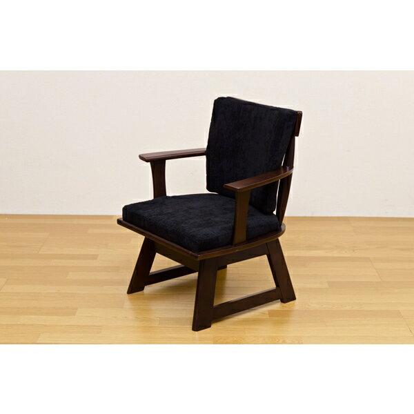 食卓椅子 回転 リビングチェア 家具 ダイニング 回転式で立ち座り楽々!ナチュラル