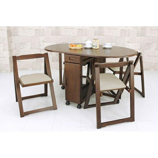 ダイニングテーブルセット ダイニングテーブル シンプルデザイン!木製ダイニングセット!ダイニング5点セット ダークブラウン