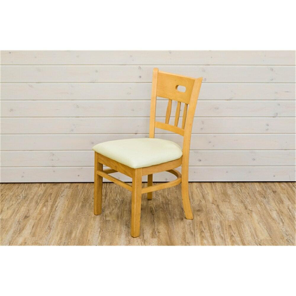 食卓椅子 チェア 椅子 ダイニングチェア 2脚セット カラー:ライトブラウン