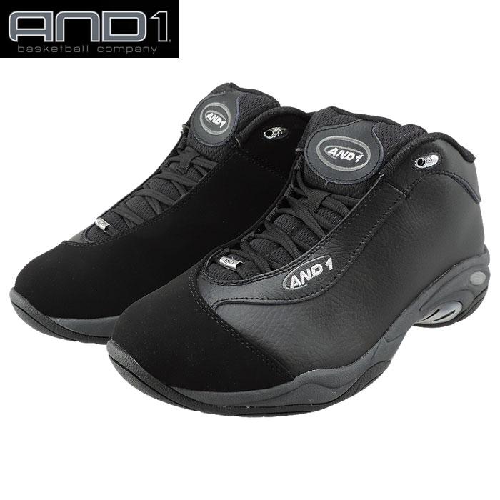 AND1 TAI CHI LX 黒 アンドワン タイチミッド ブラック バッシュ メンズ バスケットシューズ D1055MBBB