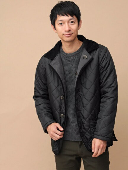 【SEVENDAYS=SUNDAY】Men's リバーシブル パイピングキルティングコート