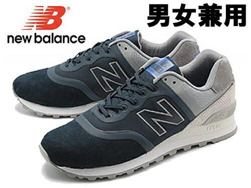 ニューバランス MTL574 ワイズ:D 男女兼用 NEW BALANCE MTL574DA MTL574DC メンズ レディース スニーカー(01-10360308)ネイビーxグレー