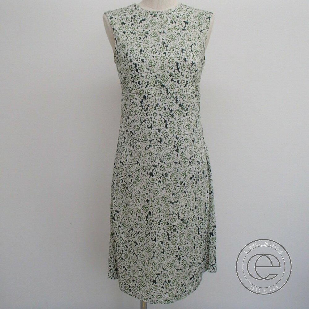 Tory Burch【トリーバーチ】 Tory Burch 21142445 'Valerie' Print Crepe Jersey A-Line Dress ヴァレリー フラワープリント Aライン ジャージー ドレス ワンピース レディース 【中古】
