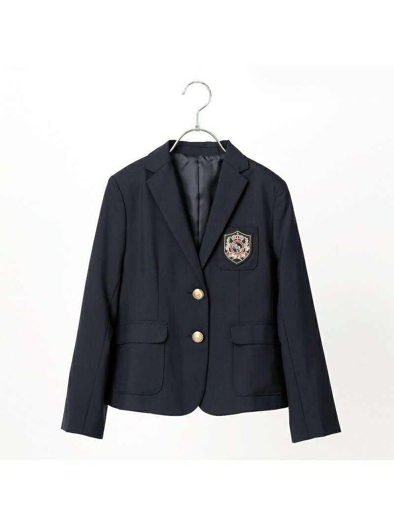 COMME CA ISM 紺ブレ女の子開き スーツ セットアップ コムサイズム【送料無料】